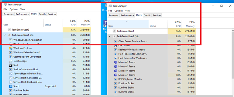 WVD-Hide Other Users Apps in Task Manager