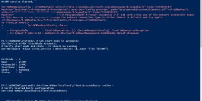 Powershell Remote Guide